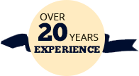 Over 15 Years of Experience